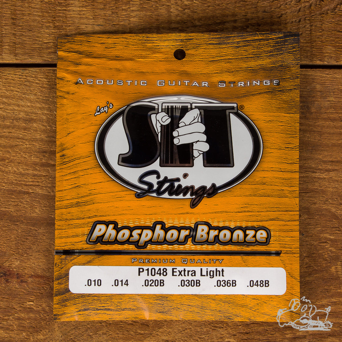 S.I.T Phosphor Bronze Acoustic Guitar Strings