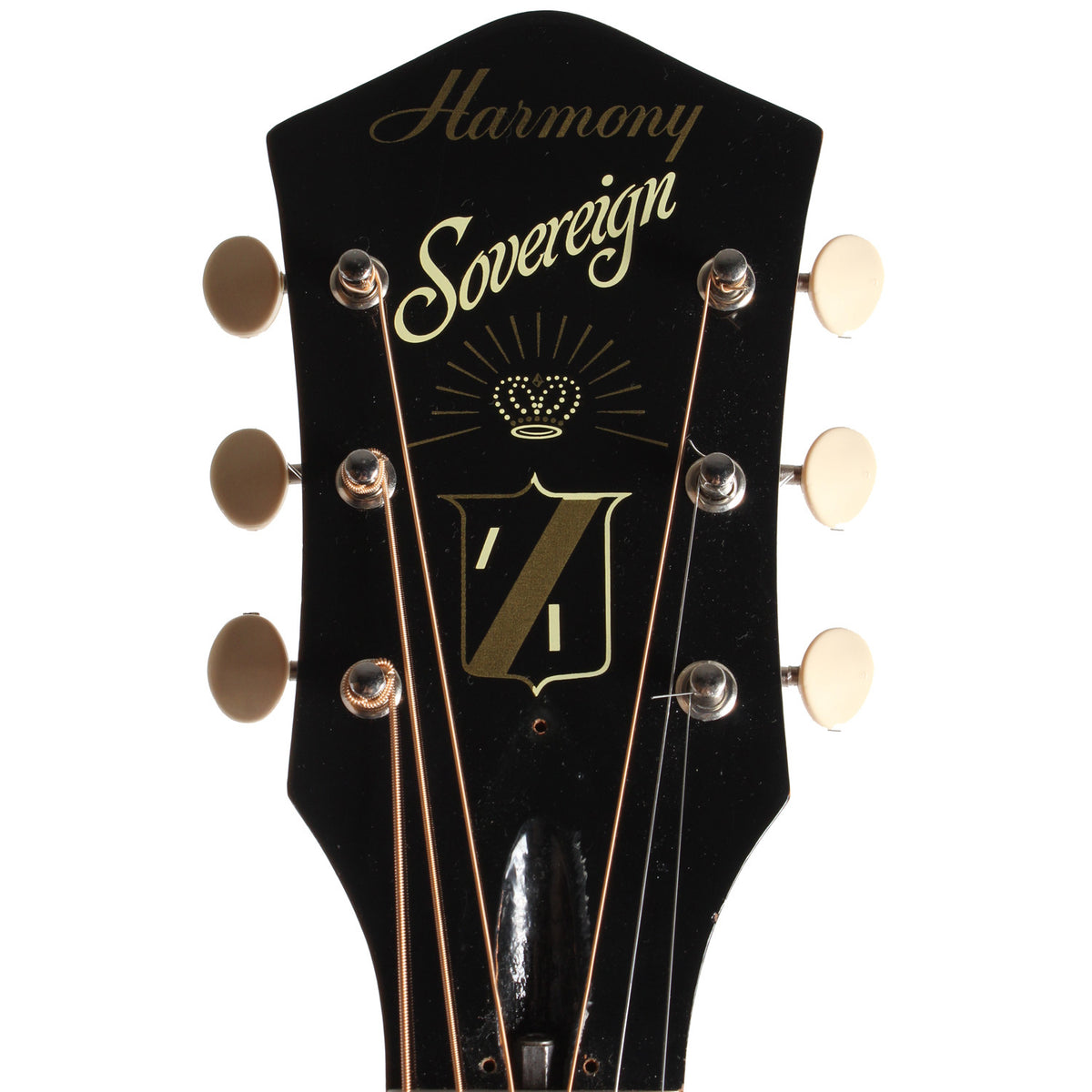 1971 Harmony Sovereign - Garrett Park Guitars  - 6