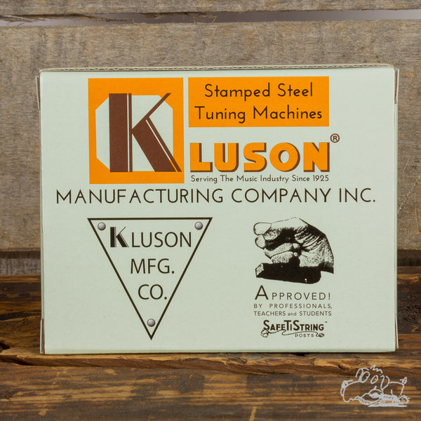 Kluson 3x3 Single Line Tuners in Metal or Plastic