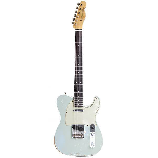 2010 Fender Custom Shop, WW 10-59 Telecaster Relic, Faded Sonic Blue - Garrett Park Guitars  - 3