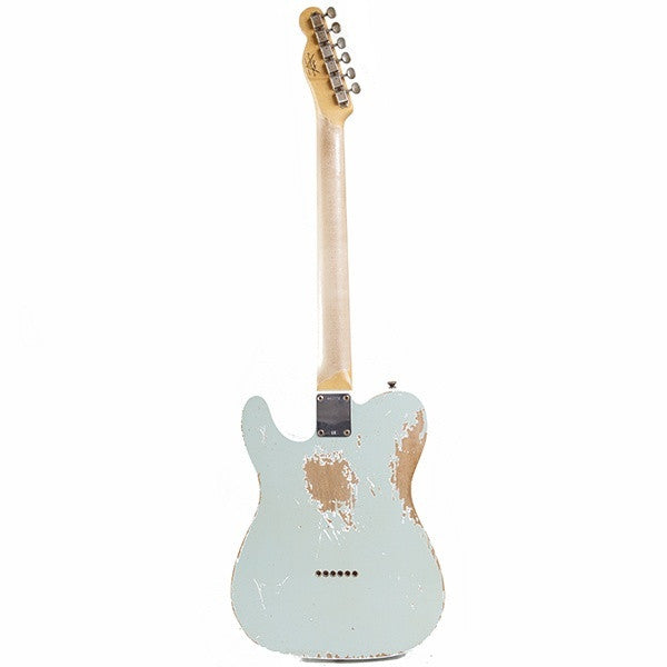 2010 Fender Custom Shop, WW 10-59 Telecaster Relic, Faded Sonic Blue - Garrett Park Guitars  - 6
