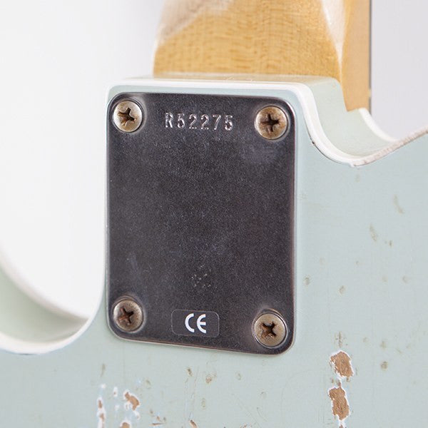 2010 Fender Custom Shop, WW 10-59 Telecaster Relic, Faded Sonic Blue - Garrett Park Guitars  - 9