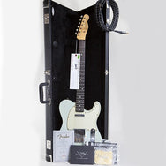 2010 Fender Custom Shop, WW 10-59 Telecaster Relic, Faded Sonic Blue - Garrett Park Guitars  - 10