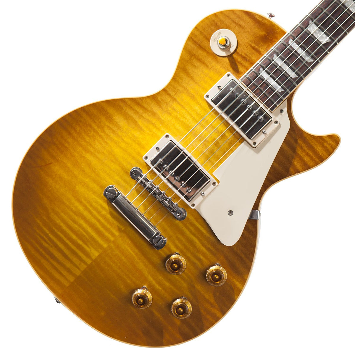 1998 Gibson Les Paul R8, Butterscotch - Garrett Park Guitars  - 1