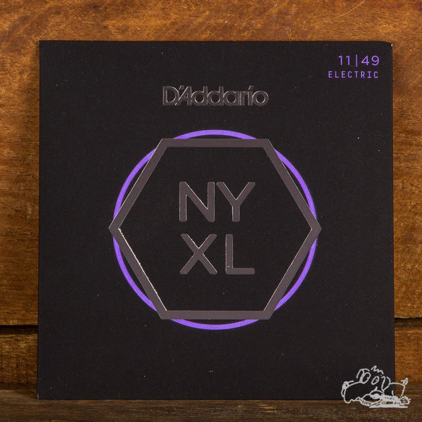 D'Addario NYXL Electric Guitar Strings - 11-49