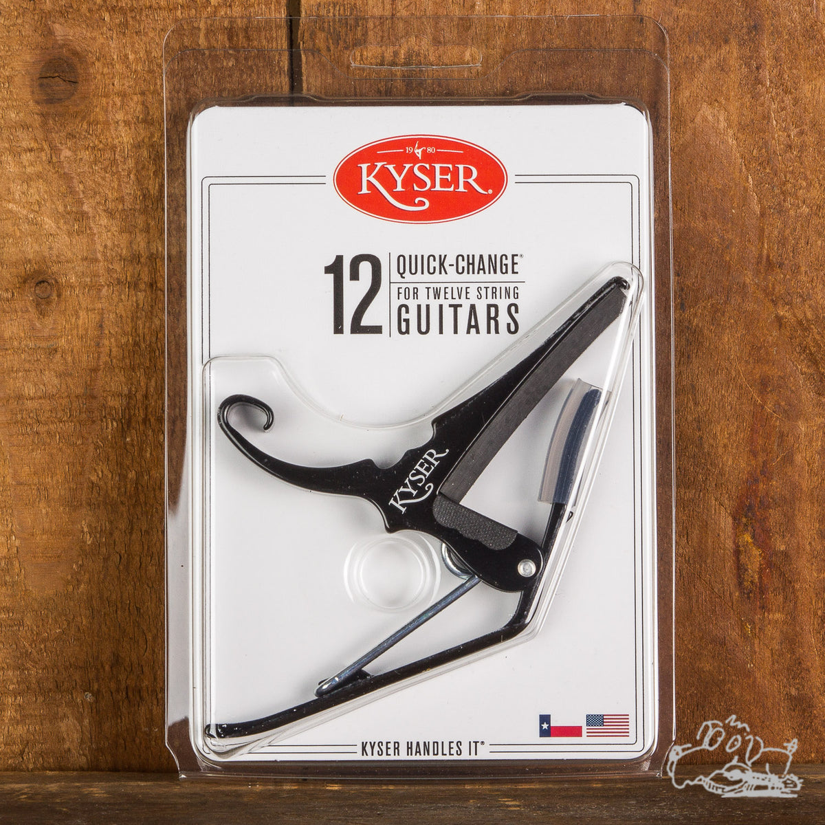 Kyser® Quick-Change® Capo for Twelve String Guitars