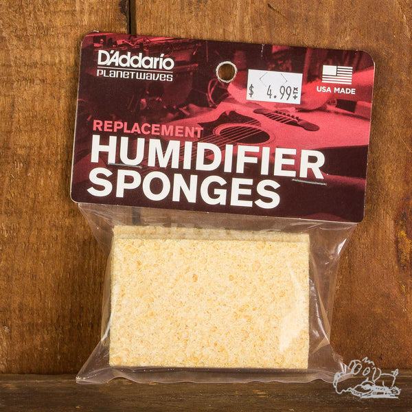 D'addario Planet Waves Replacement Humidifier Sponges