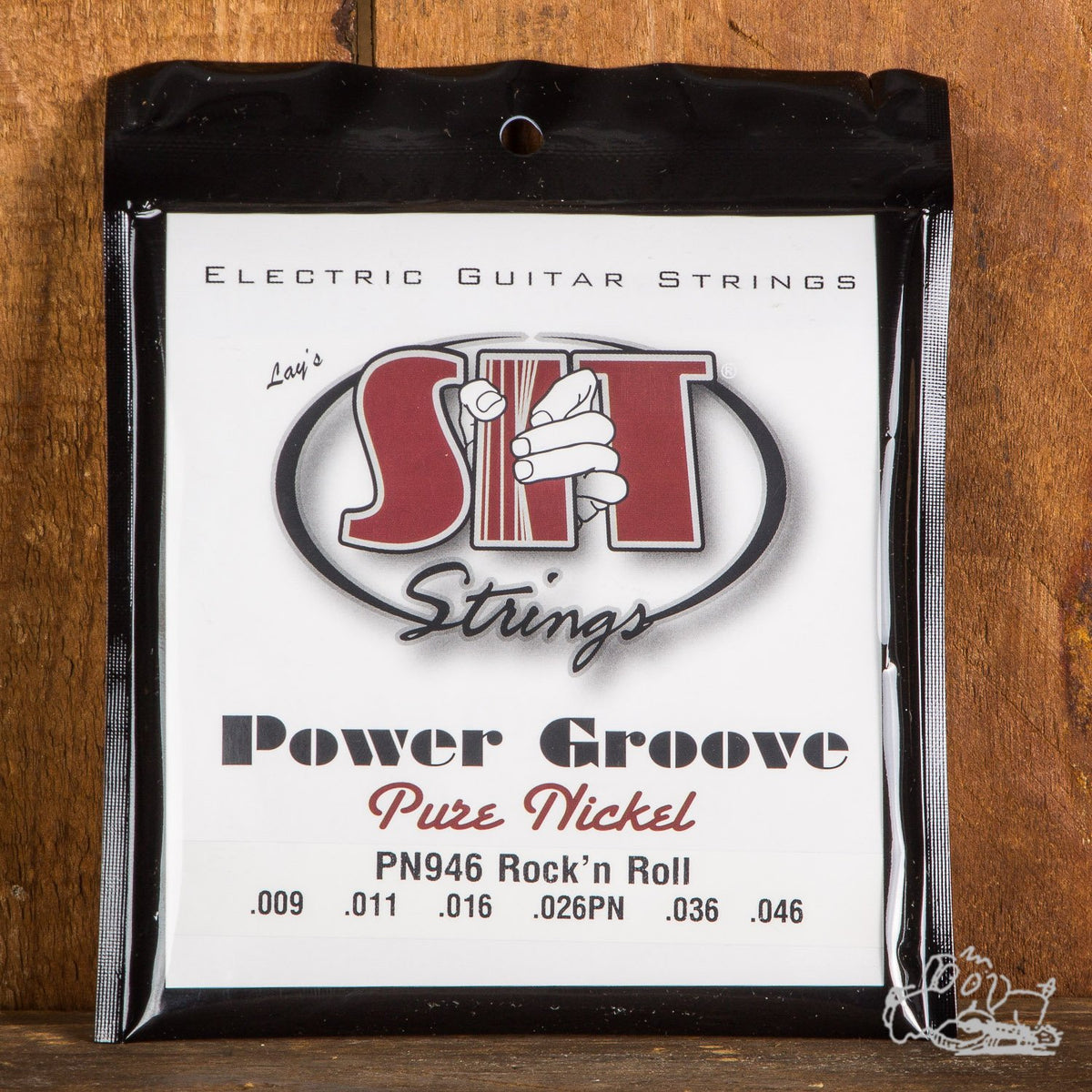 S.I.T. Power Groove Pure Nickel Electric Guitar Strings