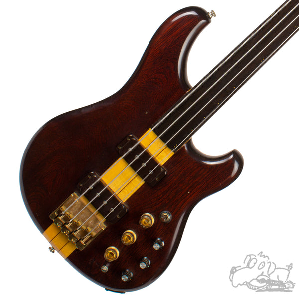 1981 Ibanez Musician Fretless Electric Bass