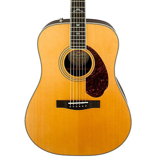 PM-1 Deluxe Dreadnought, Natural - Garrett Park Guitars  - 3