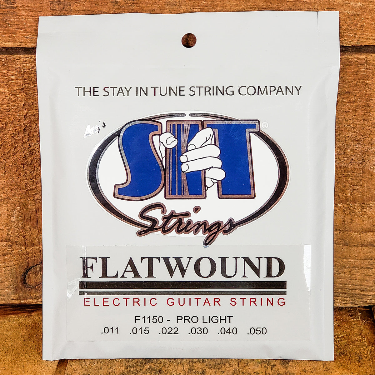 S.I.T. Flatwound Electric Guitar Strings Light 11-50