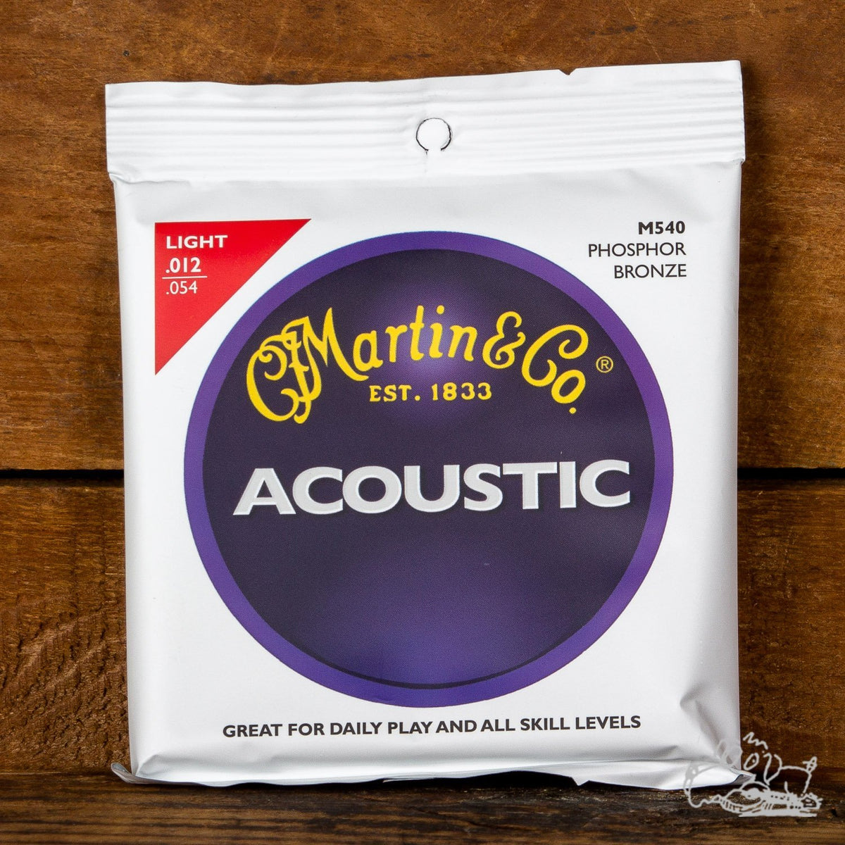 Martin Phosphor Bronze Acoustic Guitar Strings
