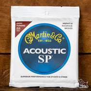 Martin Phosphor Bronze High/Nashville Tuning 10-25 Acoustic Guitar Strings