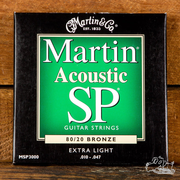 Martin Lifespan SP 80/20 Bronze 10-47 Extra Light Acoustic Guitar Strings