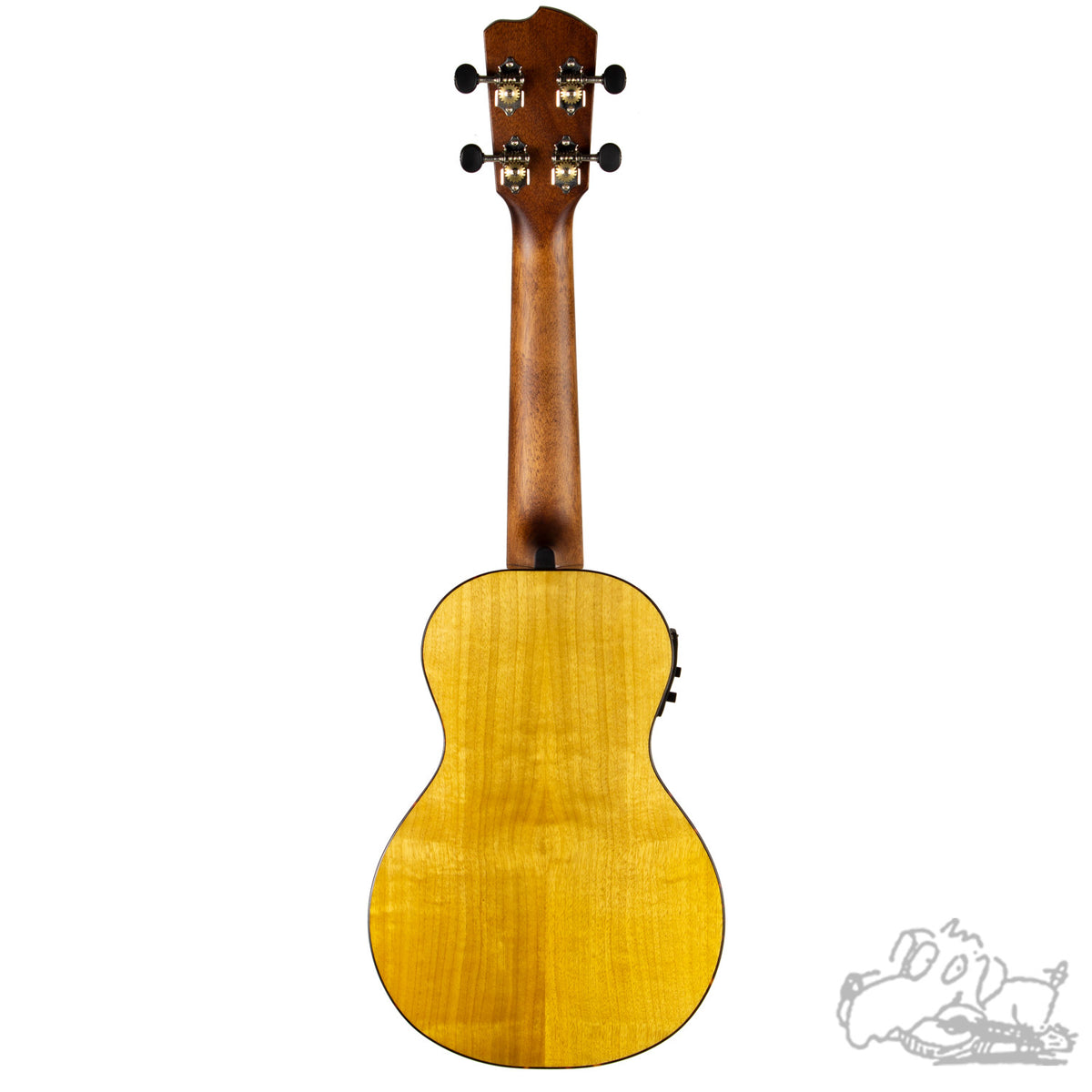 Breedlove Lu'au Concert Natural Shadow E Ukulele