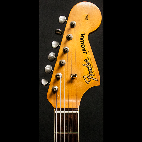 1965 FENDER JAGUAR SUNBURST - Garrett Park Guitars  - 6