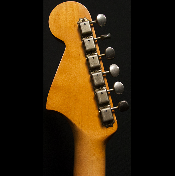 1965 FENDER JAGUAR SUNBURST - Garrett Park Guitars  - 7