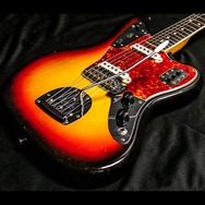 1965 FENDER JAGUAR SUNBURST - Garrett Park Guitars  - 3