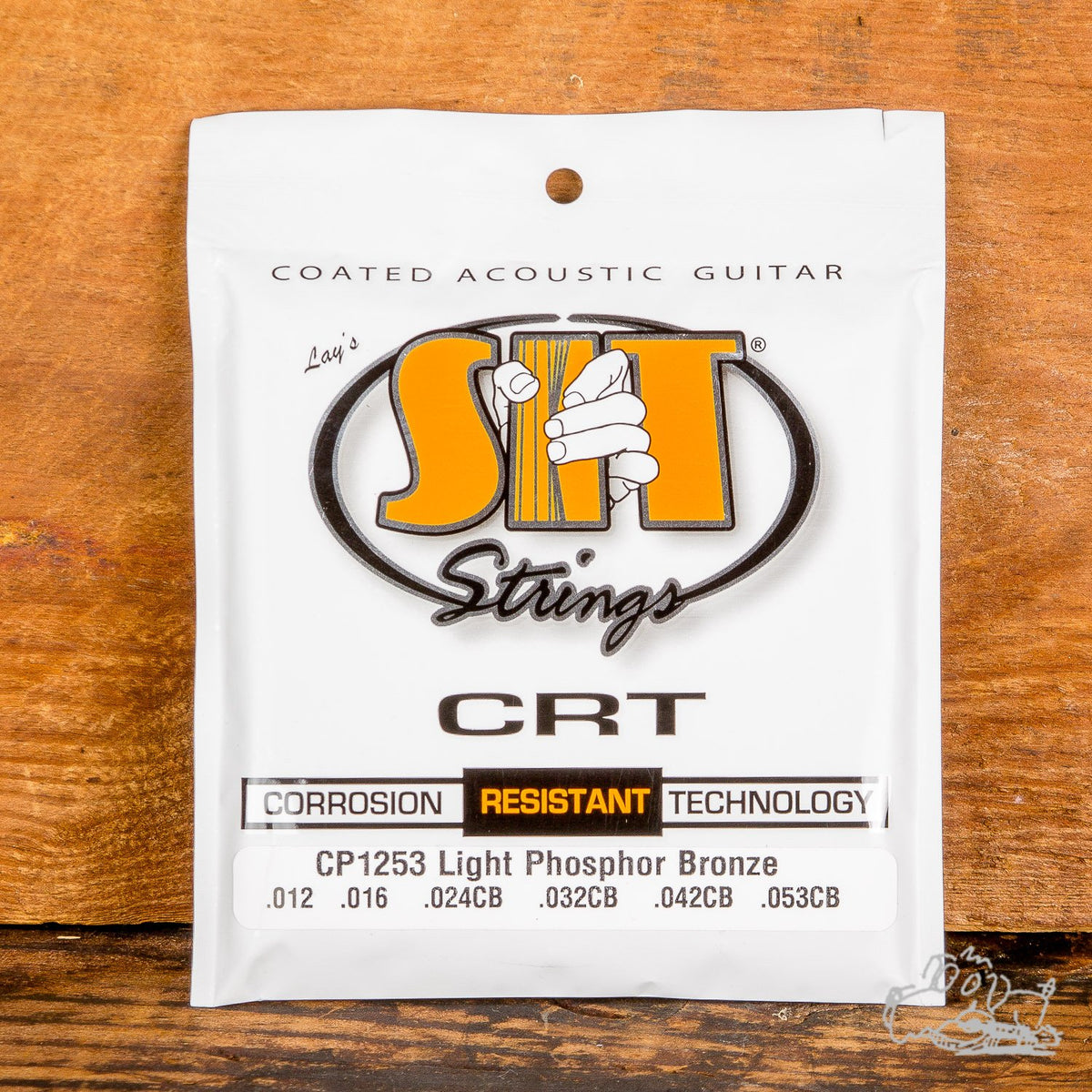 S.I.T. CRT Coated Phosphor Bronze Acoustic Guitar Strings