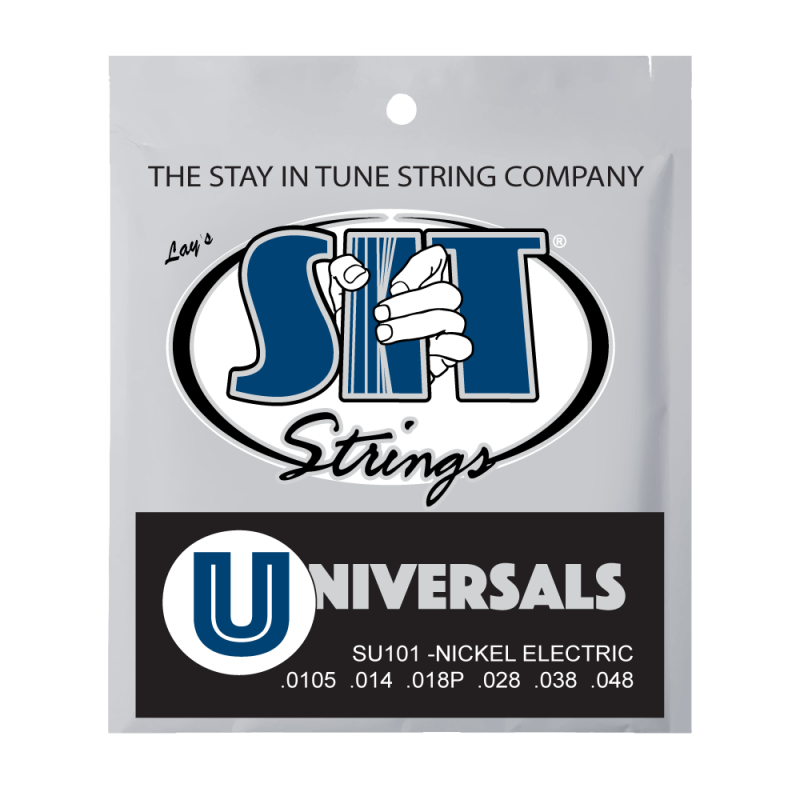 S.I.T Universals Balanced Tension Nickel Electric Guitar Strings