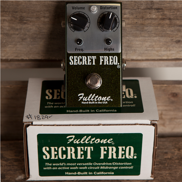 FULLTONE SECRET FREQUENCY - Garrett Park Guitars