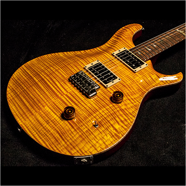 1988 PRS SIGNATURE #217, VINTAGE YELLOW - Garrett Park Guitars  - 1