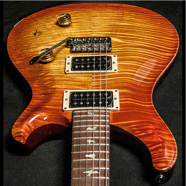 1989 PRS CUSTOM 10 TOP VINTAGE SUNBURST - Garrett Park Guitars  - 11