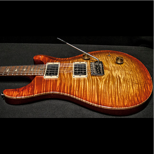 1989 PRS CUSTOM 10 TOP VINTAGE SUNBURST - Garrett Park Guitars  - 12