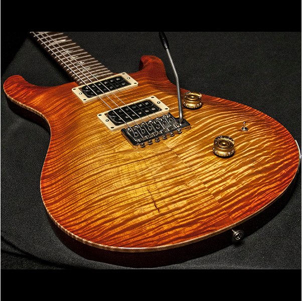 1989 PRS CUSTOM 10 TOP VINTAGE SUNBURST - Garrett Park Guitars  - 15