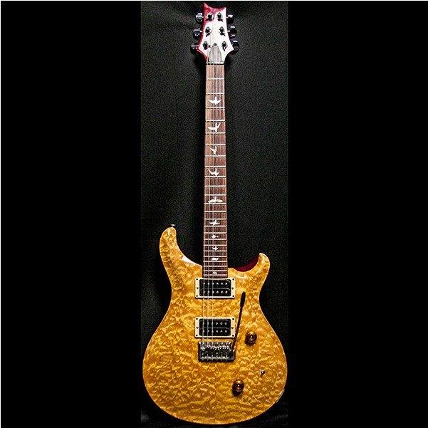 1989 PRS CUSTOM VINTAGE YELLOW QUILT 10 TOP BIRDS - Garrett Park Guitars  - 4
