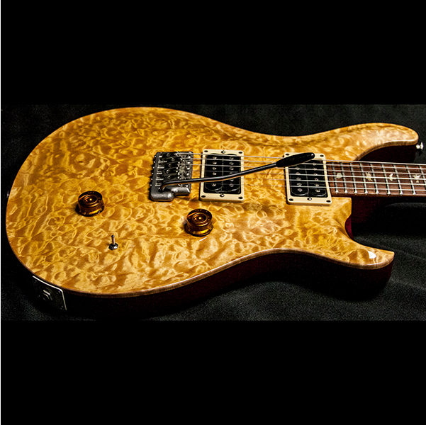 1989 PRS CUSTOM VINTAGE YELLOW QUILT 10 TOP BIRDS - Garrett Park Guitars  - 10