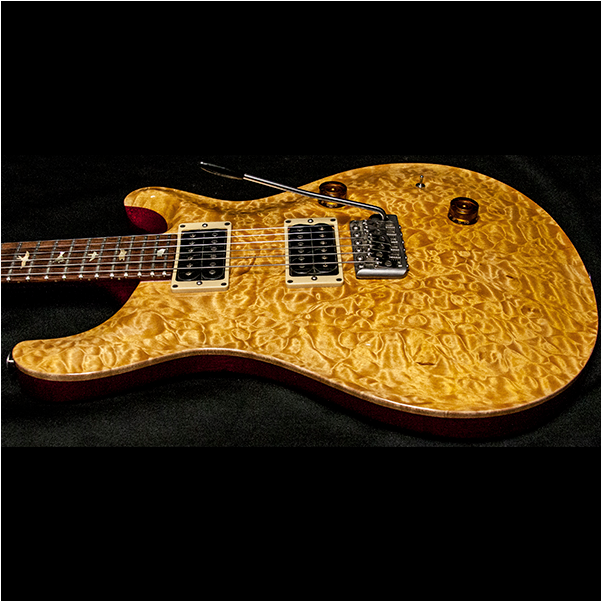 1989 PRS CUSTOM VINTAGE YELLOW QUILT 10 TOP BIRDS - Garrett Park Guitars  - 11