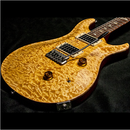 1989 PRS CUSTOM VINTAGE YELLOW QUILT 10 TOP BIRDS - Garrett Park Guitars  - 12