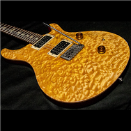1989 PRS CUSTOM VINTAGE YELLOW QUILT 10 TOP BIRDS - Garrett Park Guitars  - 18