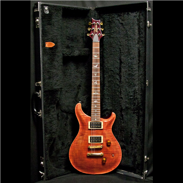 1990 PRS LIMITED EDITION, TORTOISE SHELL #131/300 - Garrett Park Guitars  - 10