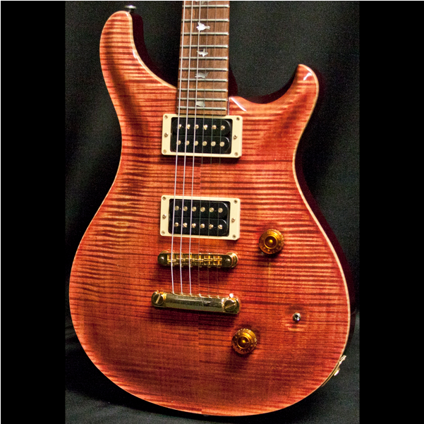 1990 PRS LIMITED EDITION, TORTOISE SHELL #131/300 - Garrett Park Guitars  - 13