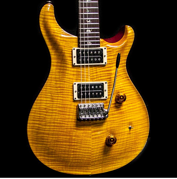 1987 PRS SIGNATURE #33 VINTAGE YELLOW - Garrett Park Guitars  - 1