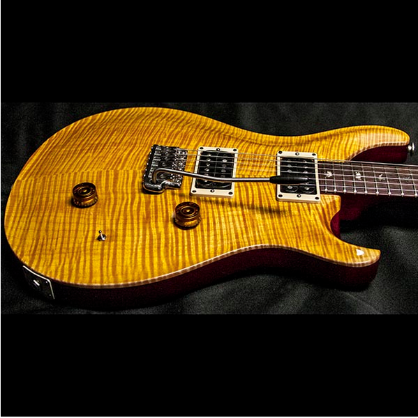 1987 PRS SIGNATURE #33 VINTAGE YELLOW - Garrett Park Guitars  - 4