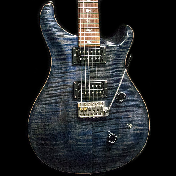 1988 PRS CUSTOM 10 TOP WHALE BLUE - Garrett Park Guitars  - 1