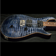 1988 PRS CUSTOM 10 TOP WHALE BLUE - Garrett Park Guitars  - 9