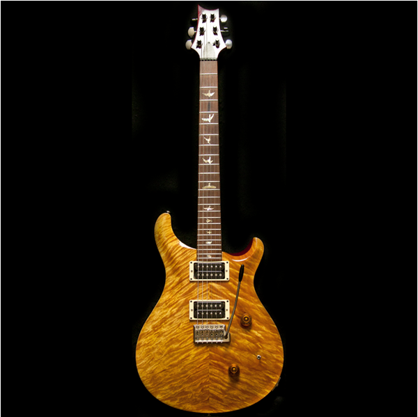 1988 PRS CUSTOM VINTAGE YELLOW BIRDS 10 TOP - Garrett Park Guitars  - 4