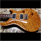 1988 PRS CUSTOM VINTAGE YELLOW BIRDS 10 TOP - Garrett Park Guitars  - 16