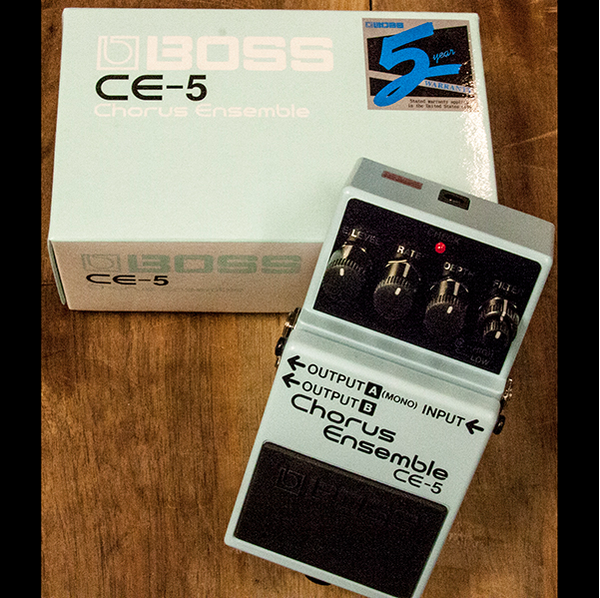 BOSS CE-5 CHORUS ENSEMBLE - Garrett Park Guitars