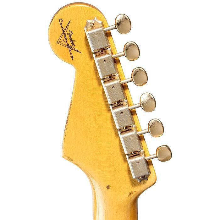 2014 Fender Custom Shop '54 Stratocaster Relic, Dirty Blonde - Garrett Park Guitars  - 8