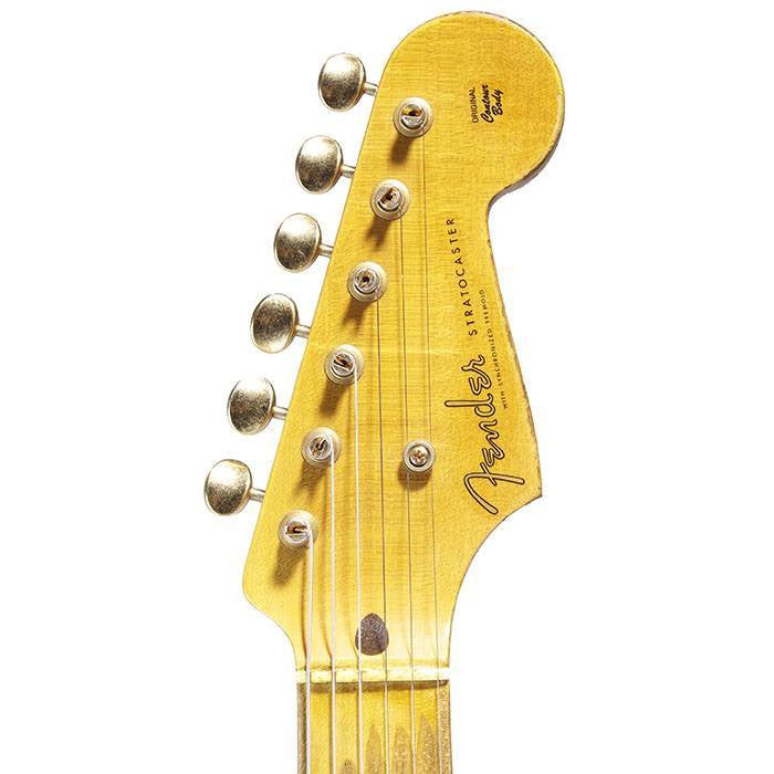 2014 Fender Custom Shop '54 Stratocaster Relic, Dirty Blonde - Garrett Park Guitars  - 7