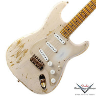 2014 Fender Custom Shop '54 Stratocaster Relic, Dirty Blonde - Garrett Park Guitars  - 1