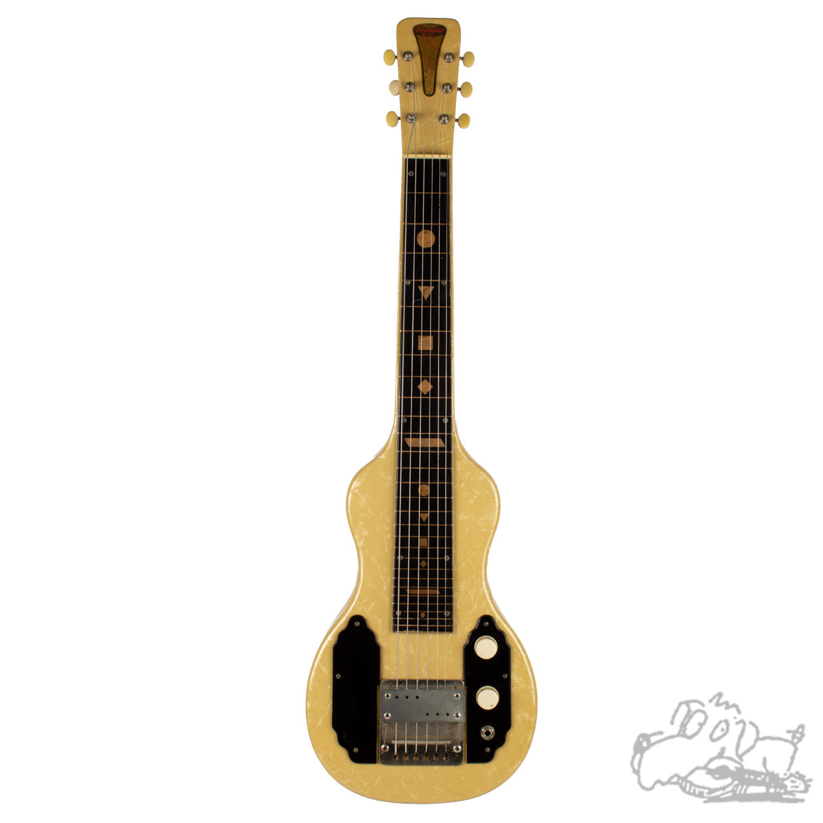 1958 English Tonemaster Lap Steel Guitar