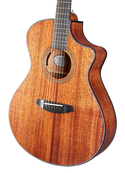 Wildwood Concert Satin CE African Mahogany-African Mahogany