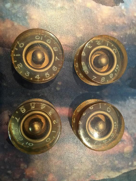 1953-1955 Gibson Les Paul knobs - Garrett Park Guitars  - 2