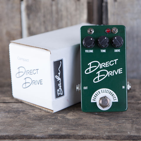 Barber Electronics, Direct Drive Pedal - Garrett Park Guitars
